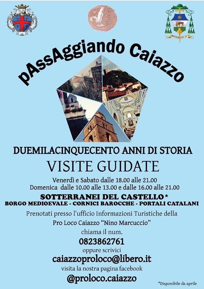 Visite al Castello di Caiazzo