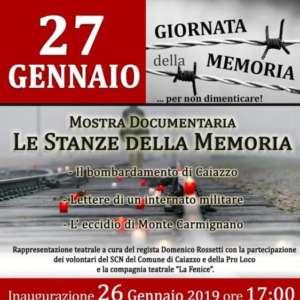 Mostra documentaria: Le Stanze della Memoria